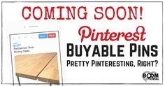 COMING SOON! Buyable Pins - Pretty Pinteresting, Right? http://kimgarst.com/coming-soon-buyable-pins-pretty-pinteresting-right?inf_contact_key=3abeafa02e7d1225323845c19c45943e0ee7cdcfaa134c3f5532d7668d4851db&utm_content=buffer76ea7&utm_medium=social&utm_source=pinterest.com&utm_campaign=buffer