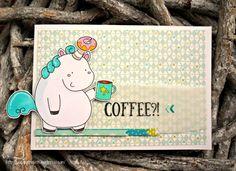 Keksdose das Einhorn Kaffee-Karte Cookie Jar the Unicorn coffee lover card