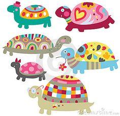 cute turtles - Google Search