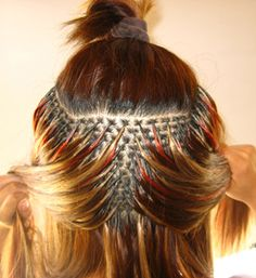 Fusion Hair Extensions - Beauty