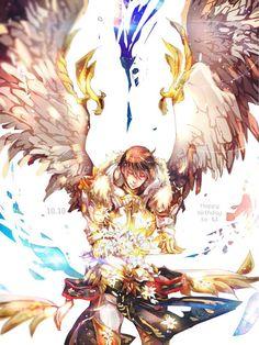 ทวิตเตอร์ Seven Knight, Knight Games, Knight Art, Pop Art Costume, Digital Art Anime, Modern Pop Art, Art Deco Posters, Art Base, Fantastic Art