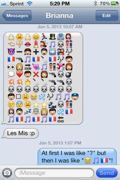 Les Mis in emoticons! ^_^