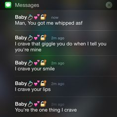 Messages from bae . Cute Relationship Texts, Cute Relationships, Boyfriend Goals, Future Boyfriend, Future Husband, Cute Text Messages, Text Message Quotes, Couple Texts, Bae Quotes