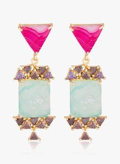Voylla Multicoloured Alloy Danglers & Drop  #Voylla, #Multicolored, #Alloy