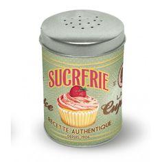 Sucrier Poudreur Lady Cupcake http://www.boutiquemarieclaire.com/catalogue/cuisine-vin/art-de-la-table/sucrier-poudreur-lady-cupcake.html