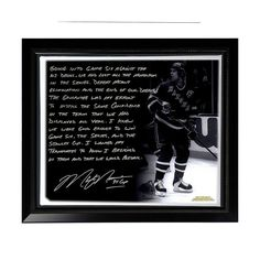 """Steiner Sports New York Rangers Mark Messier 1994 Stanley Cup Guarantee Facsimile 22"""" x 26"""" Framed Stretched Story Canvas, Multicolor"""