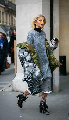 6 фотодоказательств того, что юбка и зима созданы дру для друга - Мода - SNCMedia.ru