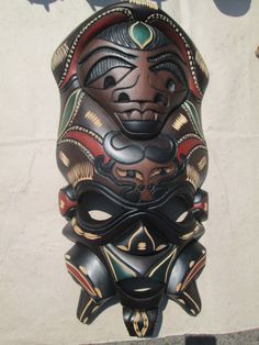 Tribal mask  African by handicraftafrica on Etsy, $239.99