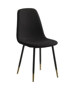 Stol JONSTRUP svart/gull   JYSK Eindhoven, Color Negra, Garden Furniture, Black Gold, Dining Chairs, Dining Rooms, House, Holiday, Powder Paint