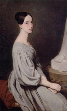 Marie d'Orléans (1813-1839) Ary Scheffer_1837_Museum Conde Chantily