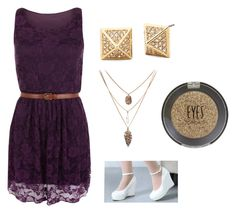 """""""Fancy Purple"""" by niki-lear on Polyvore featuring WearAll and Topshop"""
