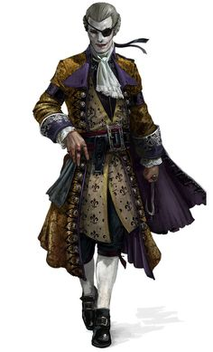 The Dandy concept from Assassin's Creed IV: Black Flag