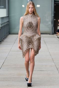 Iris van Herpen Spring 2015 Ready-to-Wear - Collection - Gallery - Look 15 - Style.com