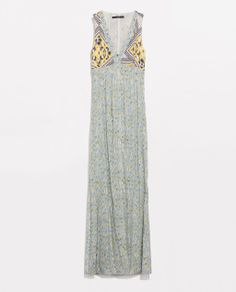 Image 8 of COMBINED MAXI DRESS from Zara