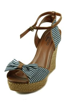 Sandale cu platforma Blanco
