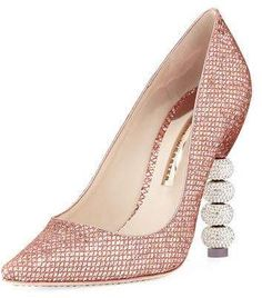 ea23ead75cca Sophia Webster Coco Crystal-Embellished Major Pump. High HeelSEEK · Sparkly  Heels.