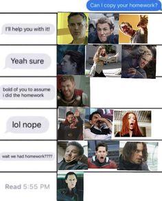 """Loki be like """"ooh sucks to be u"""" Funny Marvel Memes, Marvel Jokes, Dc Memes, Avengers Memes, Marvel Actors, Marvel Characters, Marvel Avengers, Marvel Comics, Superhero Memes"""