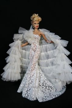 Amon Design Gown Outfit Dress Fashion Royalty Silkstone Barbie Model Doll FR 3 • $69.99