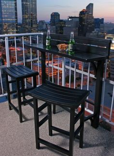 77 cool ideas for space-saving furniture, which you coquettish the small balcony - Balkonmöbel – Terrassenmöbel – Terrassengestaltung - Balcony Furniture Design Small Balcony Design, Tiny Balcony, Outdoor Balcony, Small Patio, Balcony Bench, Balcony Ideas, Modern Balcony, Small Balconies, Balcony Gardening
