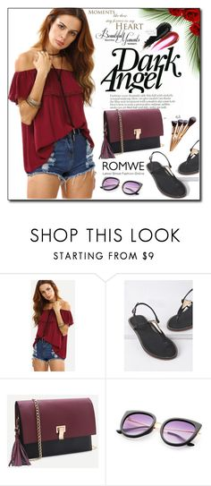 """""""ROMWE 1"""" by woman-1979 ❤ liked on Polyvore"""