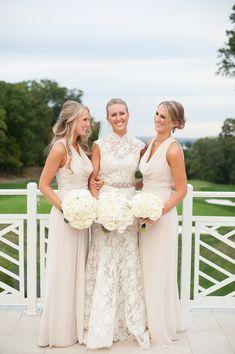 Understated Elegance- Real Wedding of N + J