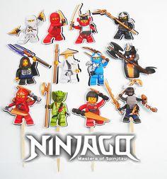 ninjago invitation printable ninjago birthday party. Black Bedroom Furniture Sets. Home Design Ideas