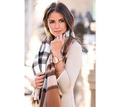 Kostkovaný šátek | modino.cz #modino_style #style #fashion #vanoce #darek #prokamaradku