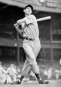 ted williams - Bing Images Old baseball pics are just so cool