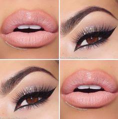 #pink #lips #beautyi