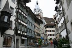 Was on this very street when I was a little girl. Winterthur, Zermatt, Bern, Hotels, Lausanne, How Beautiful, Google Images, Travel Photos, Places Ive Been