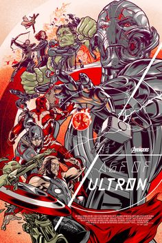 Avengers: Age of Ultron by MARTIN ANSIN