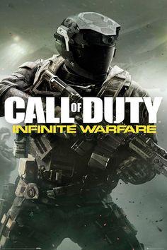 Póster Call of Duty Advanced Warfare. 61 x 91,5 cm  Póster perteneciente al popular videojuego basado en la undécima entrega Call of Duty Advanced Warfare.