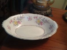 "Syracuse Briarcliff, Federal Shape Oval Veggie Serving Bowl, 10-5/8"". $15.00 at dfa0 on ebay, 7/17/16"