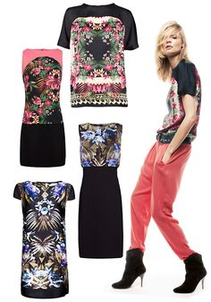 Tropical collection by Mango #fashion #style