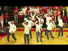 Godwin High School Senior Guys Dance 2013