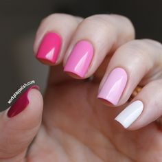 Pretty Pink Ombre