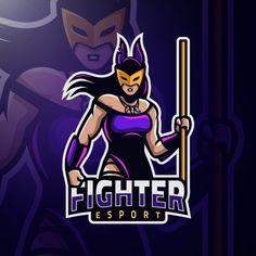 Vector Portrait, Digital Portrait, Ninja Art, Free Characters, Esports Logo, Game Logo, Digital Illustration, Vector Free, Logo Design