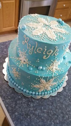 Cakes Frozen On Pinterest Frozen Cake Olaf Cake And