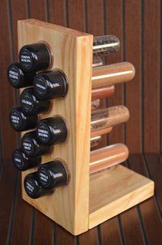Porta Tempero - 10 tubetes