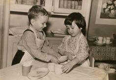 Дима Карпов и Юля Ширман.  6 мая 1963 год Дима и Юля сосуля.