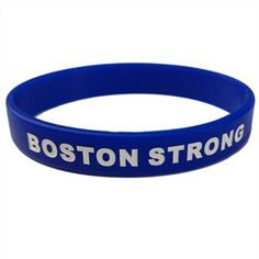 This bracelet shows that you are not just strong, but are Boston Strong. 100% of the profits from this item will be added to our donation to the One Fund Boston