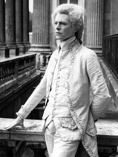"writerofthought: ""xxfummxx: ""yourfluffiestnightmare: ""lizamezzo: "" Oh look, it's David Bowie in a 1780s frock coat. "" Oh look it's David Bowie in 1780 "" Oh look, there's Jareth's bulge too "" WHY WOULD..."