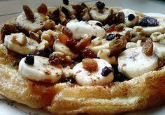 Pampuchy - wszystko o gotowaniu: Białkowy, energetyczny Pancake na śniadanie