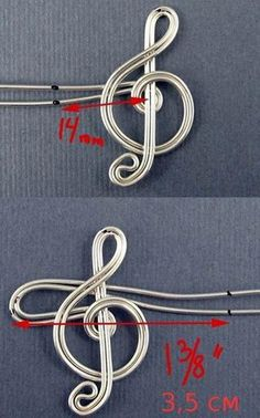 Ear cuff tutorial. Not in English, but with good pictures.