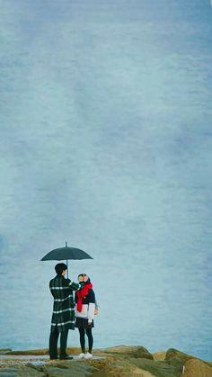 Cute Love Stories, Cute Love Images, Jung So Min, Goblin Kdrama Fanart, Goblin Art, Goblin Korean Drama, Goblin Gong Yoo, Korea Wallpaper, Cute Couple Wallpaper