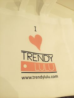 TrendyLulu - women's fashion  Free tote bags with all orders! While stocks last. Upto 50% off storewide! www.trendylulu.com
