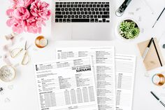 Part research planner, part-checklist, all-in-one genealogy worksheet for individuals. Perfect for tracking down and keeping track of your ancestors.