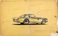"Raymond Loewy's design for Studebecker ""Avanti"", 1961"