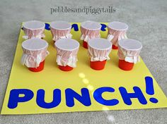 Pebbles and Piggytails: Making Life Meaningful: Tissue PUNCH Game for Kids would be fun for fall carnival or Halloween party. Could use different colors.