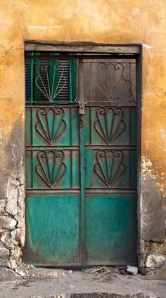 Cairo, Egypt door - inspiration for wooden bracelets